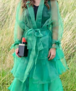 Green Organza Look Jacket 02