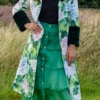 Green Tiered Skirt 01