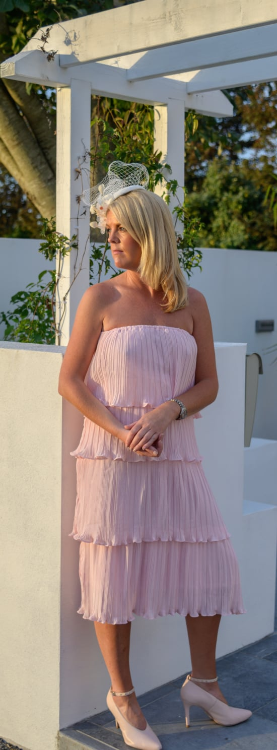 Pink Tiered Dress 01